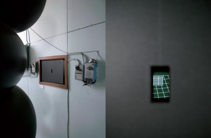 Bruno Pellier - 2000 ans d'histoire du Japon, installation vidéo, 2009