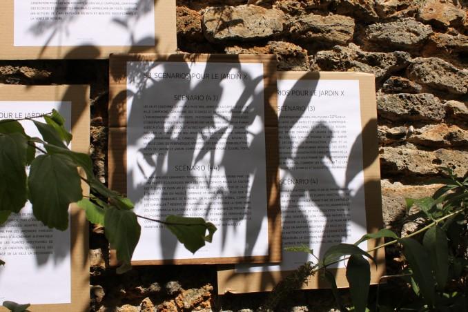 Bruno Pellier - 53 scénarios, installation, 2010