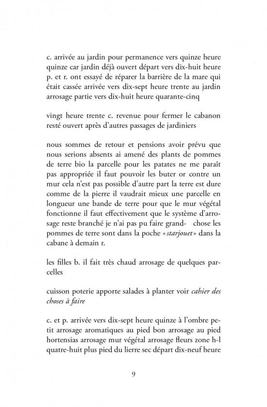 Bruno Pellier - Eden, extrait du livre édité pour l'installation, 2010