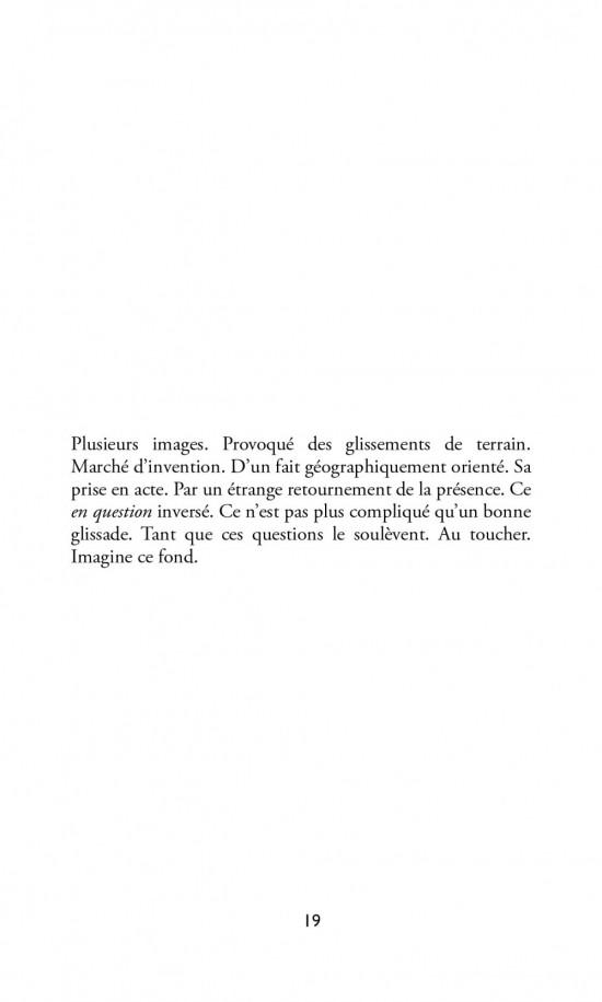 Bruno Pellier - Un réseau de grottes au centre de l'arctique – À machines IV, inédit, 2011