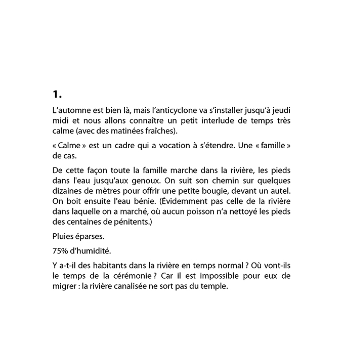 Bruno Pellier - Météo des anguilles